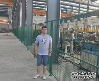 青岛车间隔离网--首钢工厂采购晟腾车间隔离网