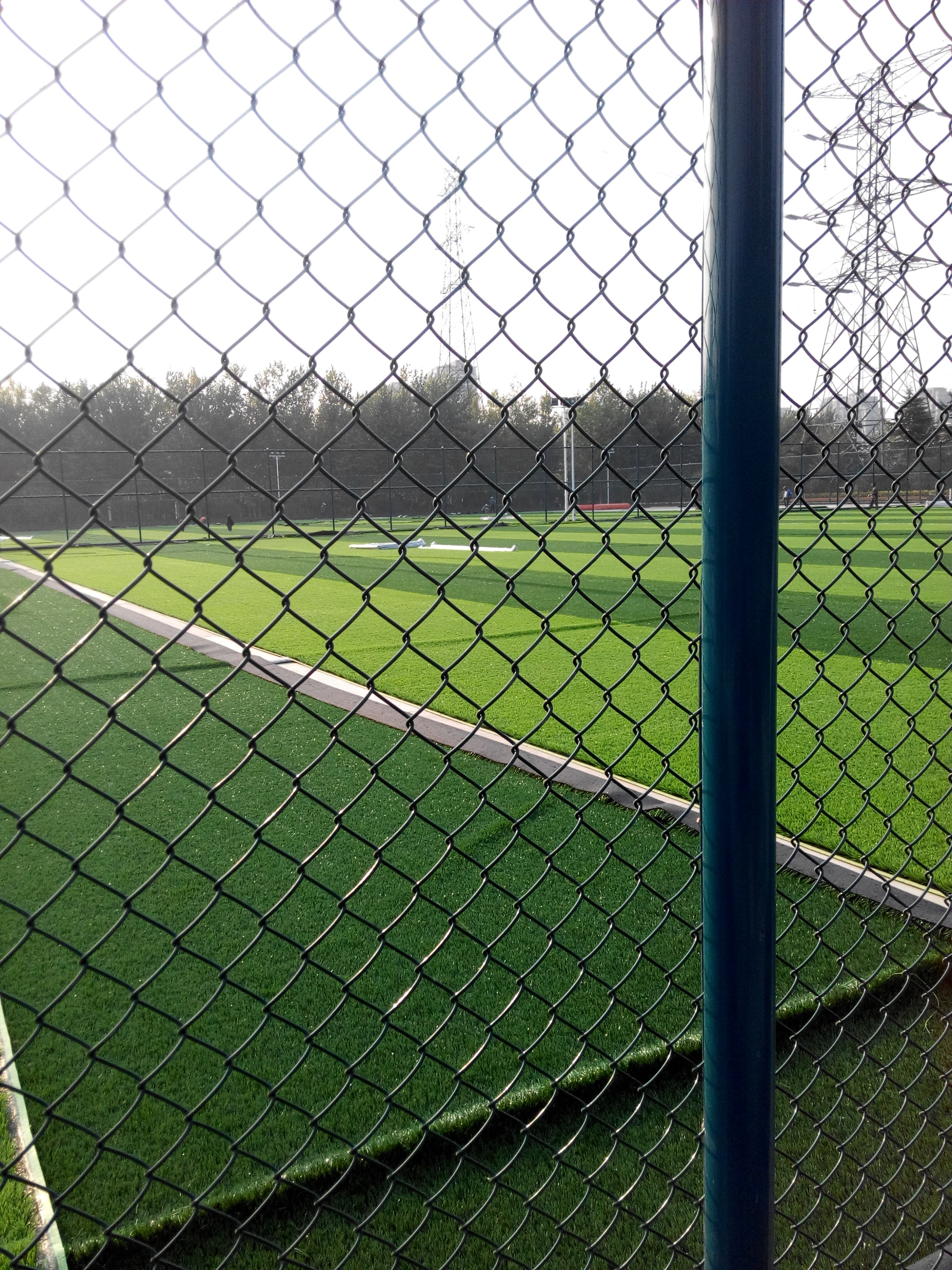球场围网施工工艺--青岛晟腾球场围网
